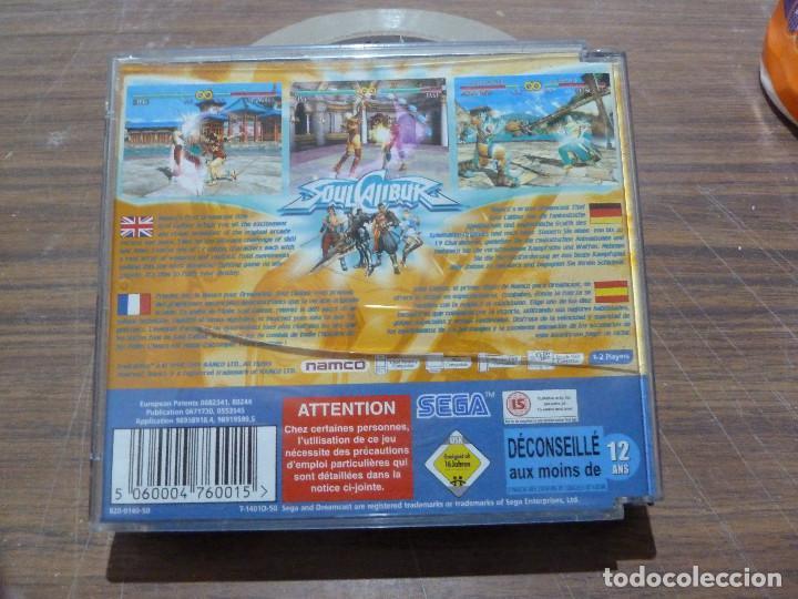 Videojuegos y Consolas: SOUL CALIBUR PARA DREAMCAST - Foto 5 - 261647850