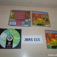 Videojuegos y Consolas: DREAMCAST - DINOSAUR , PAL ESPAÑOL , COMPLETO. Lote 262047720
