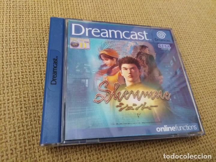 JUEGO DREAMCAST SHENMUE (Juguetes - Videojuegos y Consolas - Sega - DreamCast)