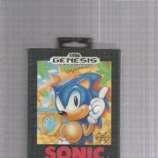 Videojuegos y Consolas: SONIC THE HEDGEHOG SEGA GENESIS. Lote 264298496