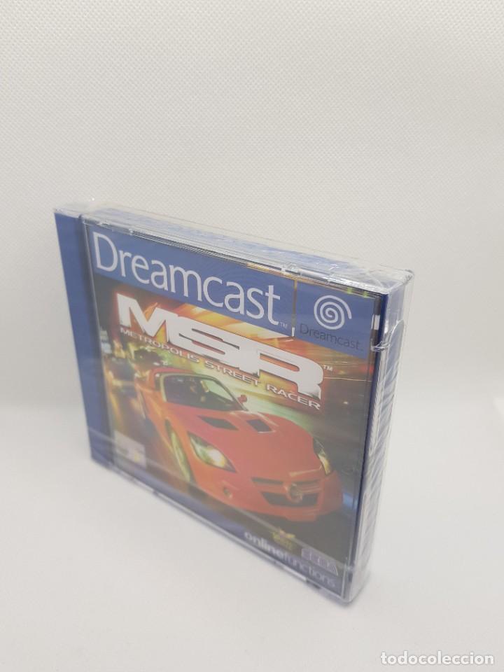 METROPOLIS STREET RACER PAL ESP. DREAMCAST NUEVO - PRECINTADO (Juguetes - Videojuegos y Consolas - Sega - DreamCast)