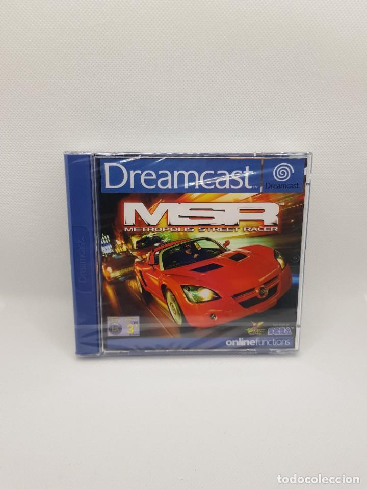 Videojuegos y Consolas: Metropolis Street Racer Pal Esp. Dreamcast NUEVO - precintado - Foto 2 - 270637653
