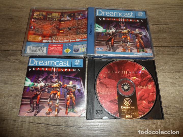 SEGA DREAMCAST QUAKE III ARENA PAL ESP COMPLETO (Juguetes - Videojuegos y Consolas - Sega - DreamCast)