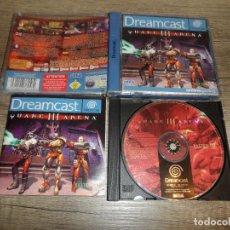 Videojuegos y Consolas: SEGA DREAMCAST QUAKE III ARENA PAL ESP COMPLETO. Lote 275199538