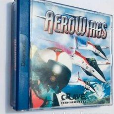 Videojuegos y Consolas: AEROWINGS [CRI MIDDLEWARE] [1999] CRAVE ENTERTAIMENT [PAL] [SEGA DREAMCAST] EDICION EURO ES. Lote 276554528