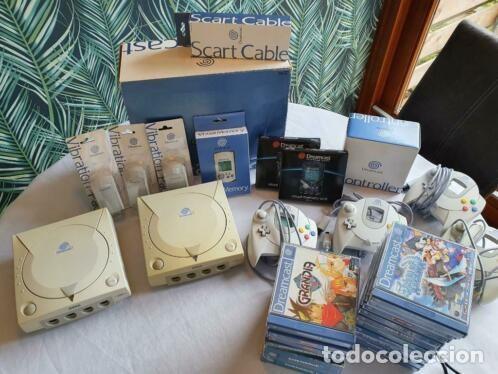 SEGA DREAMCAST 2 CONSOLAS CON JUEGOS (Juguetes - Videojuegos y Consolas - Sega - DreamCast)