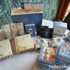 Videojuegos y Consolas: SEGA DREAMCAST 2 CONSOLAS CON JUEGOS. Lote 287800993