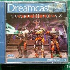 Videojuegos y Consolas: SEGA DREAMCAST QUAKE III ARENA ESPAÑOL NUEVO PRECINTADO. Lote 294494003