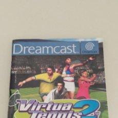 Videojuegos y Consolas: MANUAL JUEGO VIRTUA TENNIS 2 - DREAMCAST -. Lote 295435663