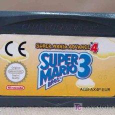 Videojuegos y Consolas: JUEGO CONSOLA ORIGINAL NINTENDO GAME BOY SUPER MARIO 3 SUPERMARIO ADVANCE 4. Lote 12655517