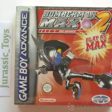 Videojuegos y Consolas: GBA NINTENDO GAME BOY ADVANCE: JUEGO BOMBERMAN MAX 2 RED ADVANCE / NUEVO Y PRECINTADO - (GAMEBOY). Lote 26233029