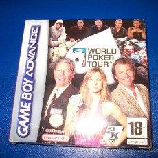 Videojuegos y Consolas: GAME BOY ADVANCE WORLD POKER TOUR - PRECINTADO. Lote 24111040