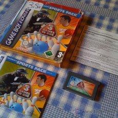 Videojuegos y Consolas: MAJESCO'S SPORTS PACK 3 JUEGOS EN 1 PARA NINTENDO GAMEBOY GAME BOY ADVANCE Y DS COMPLETO CON CAJA. Lote 26533106