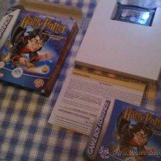 Videojuegos y Consolas: HARRY POTTER Y LA PIEDRA FILOSOFAL PARA NINTENDO GAMEBOY GAME BOY ADVANCE DS. Lote 26533151