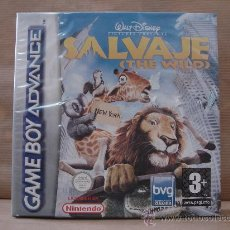 Videojuegos y Consolas: VIDEO JUEGO NINTENDO - GAME BOY ADVANCE - SALVAJE THE WILD - ¡¡¡ PRECINTADO ¡¡¡¡. Lote 27361432