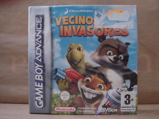 VIDEO JUEGO NINTENDO - GAME BOY ADVANCE - VECINOS INVASORES ¡¡¡¡ PRECINTADO ¡¡¡ (Juguetes - Videojuegos y Consolas - Nintendo - GameBoy Advance)