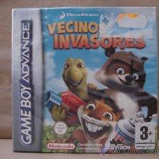Videojuegos y Consolas: VIDEO JUEGO NINTENDO - GAME BOY ADVANCE - VECINOS INVASORES ¡¡¡¡ PRECINTADO ¡¡¡. Lote 27361493