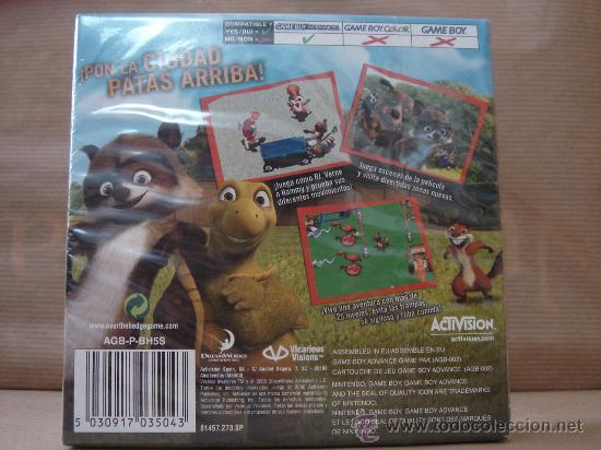 Videojuegos y Consolas: VIDEO JUEGO NINTENDO - GAME BOY ADVANCE - VECINOS INVASORES ¡¡¡¡ PRECINTADO ¡¡¡ - Foto 2 - 27361493