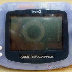 Videojuegos y Consolas: GAME BOY ADVANCE, GAMEBOY, COLOR LILA TRANSPARENTE, NINTENDO, FUNCIONA, EN. Lote 194659012