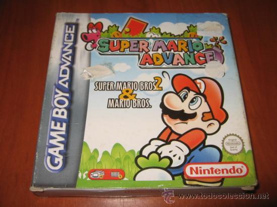 SUPER MARIO ADVANCE PAL ESPAÑA (Juguetes - Videojuegos y Consolas - Nintendo - GameBoy Advance)