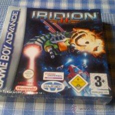 Videojuegos y Consolas: (PRECINTADO) IRIDION II 2 PARA NINTENDO GAMEBOY ADVANCE GBA COMPLETO VERSIÓN ESPAÑOLA Y NUEVO. Lote 29240156