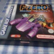 Videojuegos y Consolas: F-ZERO MAXIMUN VELOCITY JUEGO PARA NINTENDO GAMEBOY ADVANCE Y DS - VERSIÓN ESPAÑOLA NUEVO. Lote 29949032