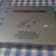 Videojuegos y Consolas: ADAPTADOR DE AURICULARES PARA CONSOLA NINTENDO GAMEBOY ADVANCE GBA NUEVO. Lote 32195795
