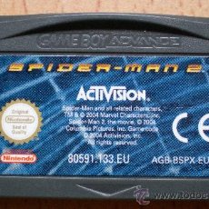 Videojuegos y Consolas: JUEGO GAME BOY GAMEBOY ADVANCE SPIDERMAN 2. Lote 30358976