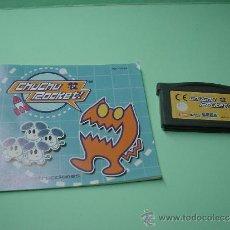 Videojuegos y Consolas: JUEGO GAMEBOY ADVANCE CHUCHU ROCKET. GAME BOY. INCLUYE INSTRUCCIONES CASTELLANO. Lote 32015842