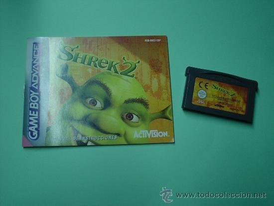 JUEGO SHREK 2 GAMEBOY ADVANCE + INSTRUCCIONES ESPAÑOL. GAME BOY. (Juguetes - Videojuegos y Consolas - Nintendo - GameBoy Advance)