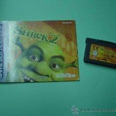 Videojuegos y Consolas: JUEGO SHREK 2 GAMEBOY ADVANCE + INSTRUCCIONES ESPAÑOL. GAME BOY.. Lote 32017443