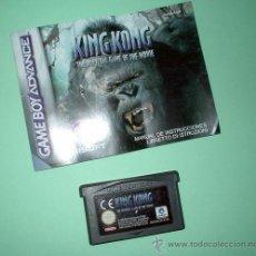 Videojuegos y Consolas: JUEGO NINTENDO GAMEBOY ADVANCE KING KONG ESPAÑOL + INSTRUCCIONES. GAME BOY. VIDEOJUEGO. Lote 32017919