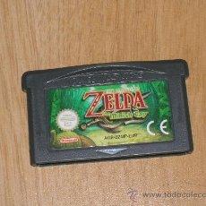 Videojuegos y Consolas: ZELDA MINISH CAP JUEGO NINTENDO GAME BOY ADVANCE Y DS PAL ESPAÑA CASTELLANO. Lote 98100811