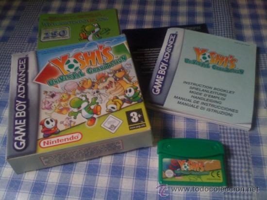 YOSHI'S UNIVERSAL GRAVITATION JUEGO NINTENDO GAMEBOY GAME BOY ADVANCE GBA COMPLETO VERSIÓN ESPAÑOLA (Juguetes - Videojuegos y Consolas - Nintendo - GameBoy Advance)