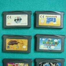 Videojuegos y Consolas: 6 JUEGOS GAMEBOY ADVANCE. Lote 35117468