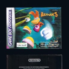 Videojuegos y Consolas: GAME BOY ADVANCE - RAYMAN3 - INSTRUCCIONES/INSTRUCTION BOOKLET. Lote 35688870