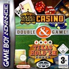 Videojuegos y Consolas: GOLDEN NUGGET CASINO / TEXAS HOLD'EM POKER [GBA ESPAÑA]. Lote 35840400