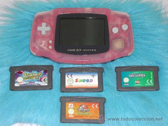 Game Boy Advance 4 Juegos Comprar Videojuegos Y Consolas Gameboy