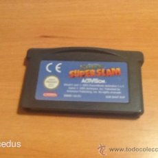 Videojuegos y Consolas: SHREK SUPERSLAM SUPER SLAM GAMEBOY GAME BOY ADVANCE GBA Y DS NDS SOLO CARTUCHO. Lote 37429348