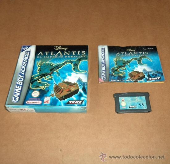 DISNEY'S ATLANTIS : EL IMPERIO PERDIDO ,COMPLETO PARA GAMEBOY ADVANCE /GBA, PAL (Juguetes - Videojuegos y Consolas - Nintendo - GameBoy Advance)