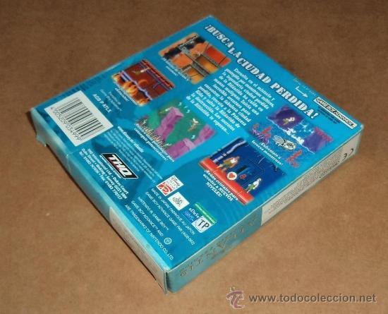 Videojuegos y Consolas: Disney's Atlantis : El Imperio Perdido ,completo para Gameboy Advance /GBA, Pal - Foto 2 - 38551727