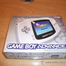 Videojuegos y Consolas: CONSOLA GAME BOY ADVANCE (GBA). NINTENDO. 32 BIT. BLANCA. NUEVA EN CAJA. 2001. VINTAGE. Lote 243480780