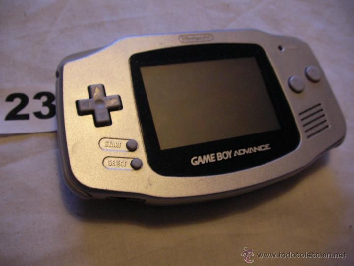ANTIGUA CONSOLA GAME BOY ADVANCE (Juguetes - Videojuegos y Consolas - Nintendo - GameBoy Advance)
