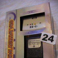 Videojuegos y Consolas: TAPA BATERIA RECARGABLE Y CARGADOR PARA GAMEBOY EN SU CAJA NUEVO . Lote 40990934