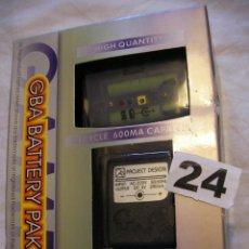 Videojuegos y Consolas: TAPA BATERIA RECARGABLE Y CARGADOR PARA GAMEBOY EN SU CAJA NUEVO . Lote 40990955