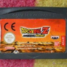 Videojuegos y Consolas: JUEGO GAMEBOY ADVANCE DRAGONBALL Z SUPERSONIC WARRIORS. Lote 42180900