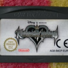 Videojuegos y Consolas: JUEGO GAMEBOY ADVANCE KINGDOM HEARTS CHAIN OF MEMORIES. Lote 42180925