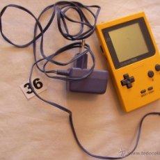 Videojuegos y Consolas: CONSOLA NINTENDO GAME BOY FUNCIONANDO CON TRANSFORMADOR. Lote 43998239