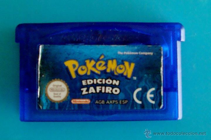 POKEMON EDICION ZAFIRO GAME BOY ADVANCE NINTENDO ORIGINAL (Juguetes - Videojuegos y Consolas - Nintendo - GameBoy Advance)