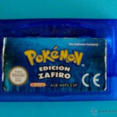 Videojuegos y Consolas: POKEMON EDICION ZAFIRO GAME BOY ADVANCE NINTENDO ORIGINAL. Lote 44218611